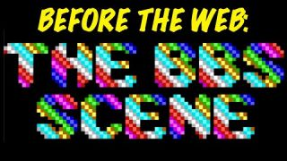 What Was Before The Web? The BBS Scene! Showing off a telnet Synchronet BBS! - 3 Old Tech Dudes